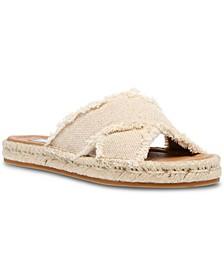 Women's Zelina Frayed Slide Sandals