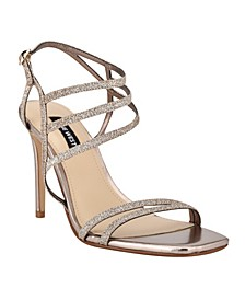 Women's Zana Strappy Evening Stiletto Dress Sandals