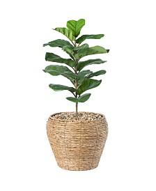 Woven Round Large Flower Pot Planter Basket