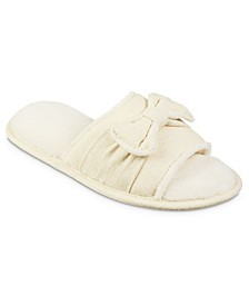 Women's Memory Foam Woven Petunia Slide Eco Comfort Slipper