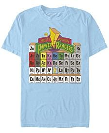 Men's Power Ranger Table Short Sleeve Crew T-shirt