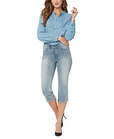Compression Cropped Jeans