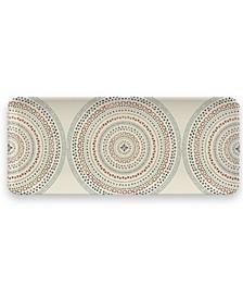 "Desert Mandala Tray, 17.8"""
