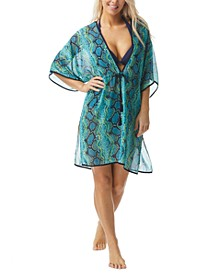 Contours Breeze Printed Cover-Up Caftan