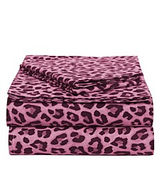 Leopard Brushed Cotton 3-Piece Set, Twin