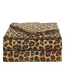 Leopard Cotton 3-Piece Set, Twin XL