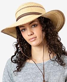 Women's Sahara Straw Sun Hat
