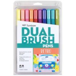 Tombow Dual Brush Pen Art Markers, 10-Pack