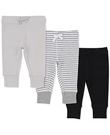 Baby Boys 3-Pc. Jogger Pants Set