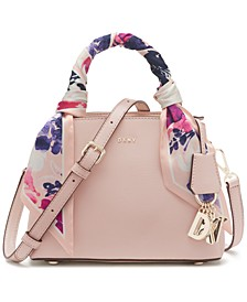 Paige Small Leather Satchel