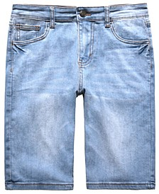 Big Boys Slick Slim-Fit Stretch Denim Shorts