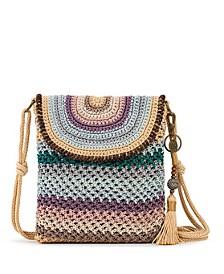 Sayulita Crochet Flap Crossbody