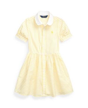 Polo Ralph Lauren Dresses LITTLE GIRLS STRIPED SHIRTDRESS