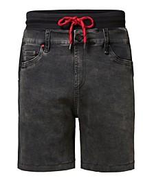 Men's Trousers Plush Denim Short