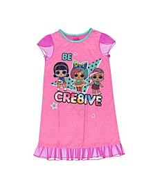 Lol Surprise Little Girls Nightgown