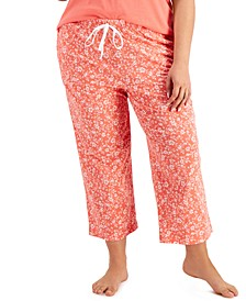 Cotton Cropped Pajama Pants, Created for Macy's