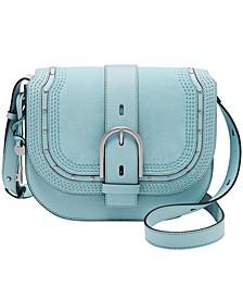 Wiley Leather Saddle Bag