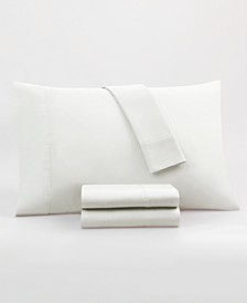 CLOSEOUT! Somerset 800 Thread Count Silver Supima Cotton 4 Piece King Sheet Set