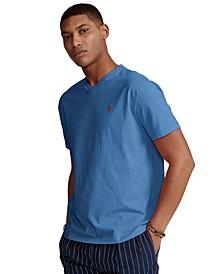 Men's Big & Tall Jersey V-Neck T-Shirt