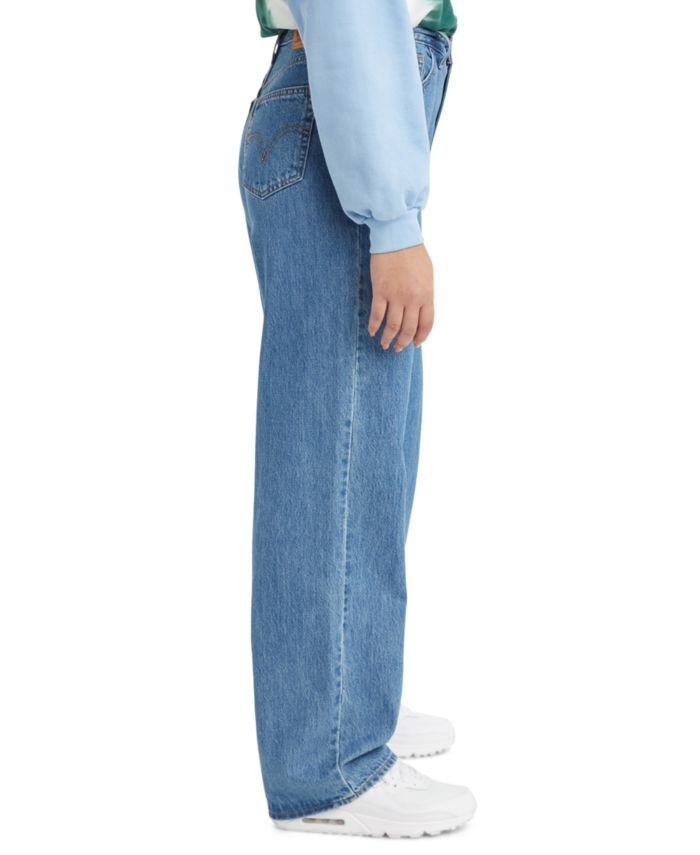 Levi's Women's High-Waisted Straight Jeans & Reviews - Jeans - Juniors - Macy's
