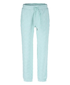 Big Girls Friends with You Collaboration Luscious Loop Terry Cloud Jacquard Pattern Jogger Pant