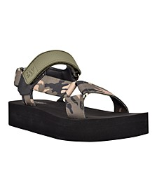 Women's Tomoro Hook and Loop Strappy Sandals