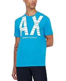 Men's Wave Logo Graphic T-Shirt