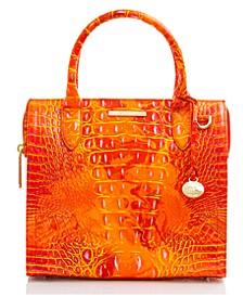 Small Caroline Melbourne Leather Satchel