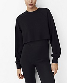 Sporty Crop Sweatshirt
