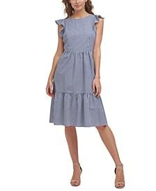 Petite Cotton A-Line Dress