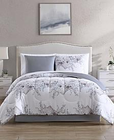 Givana 8-Pc. Reversible Queen Comforter Set