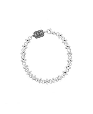 Men's Small Diamond Link Bracelet