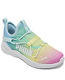 Big Girls Rainbow Softride Rift Rainbow Slip-On Running Sneakers from Finish Line