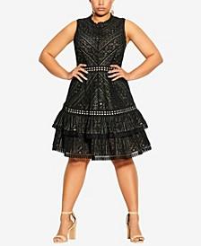 Plus Size Loving Lace Dress