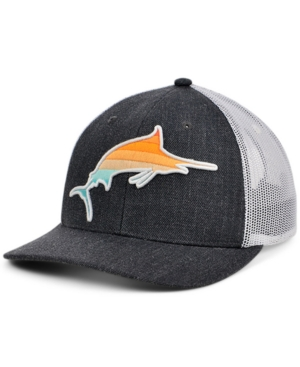 Local Crowns Marlin Fish Collection Curved Trucker Cap