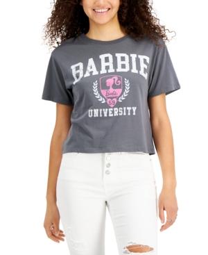 Juniors' Barbie University T-Shirt