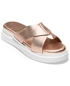 Women's Grandpro Crisscross Sandals
