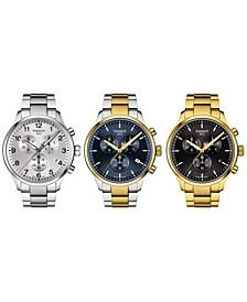 Men's Swiss Chronograph Chrono XL Classic Bracelet Watch Collection