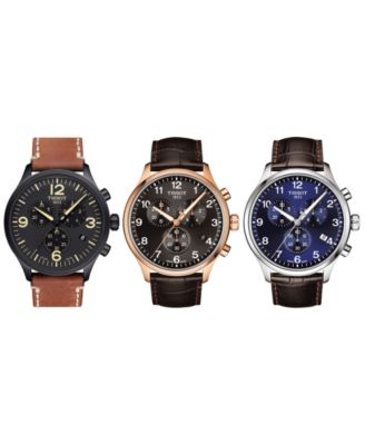 Men's Swiss Chronograph Chrono XL Green Fabric Strap Watch 45mm