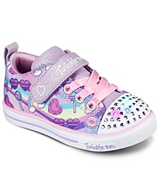 Toddler Girls Twinkle Toes Sparkle Light - Rainbow Skies Casual Sneakers from Finish Line