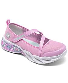 Little Girls Sweetheart Lights - Sassy Beauty Running Sneakers from Finish Line
