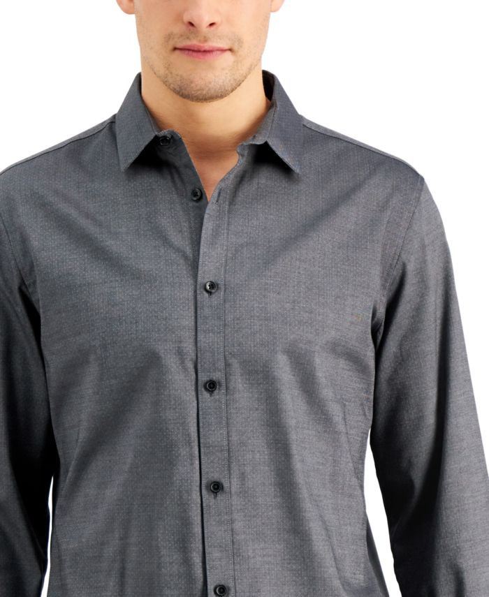 INC International Concepts INC Men's Ringo Pindot Shirt, Created for Macy's  & Reviews - Casual Button-Down Shirts - Men - Macy's