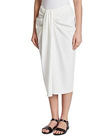 Twisted Midi Skirt