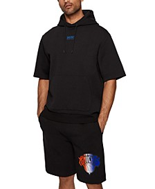 BOSS Men's BOSS x NBA Short-Sleeved Hoodie