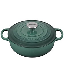 Enameled Cast Iron 3.5-Qt. Sauteuse Round Oven