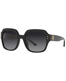 Women's Polarized Sunglasses, TY7143U 56