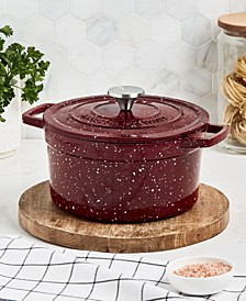 Enameled Cast Iron Speckled 4-Qt. Dutch Oven, Created for Macy's