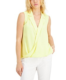 Sleeveless Collared Top, Created for Macy's