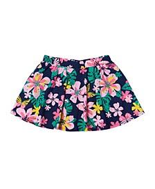 Little Girls All Over Print Scooter Skirt