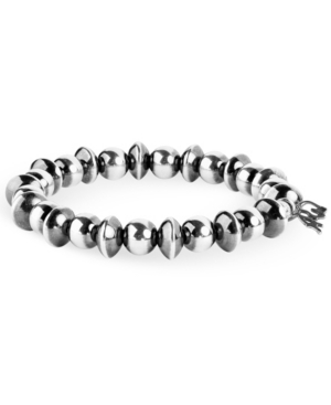 by Carolyn Pollack Sterling Silver Beaded Stretch Bracelet